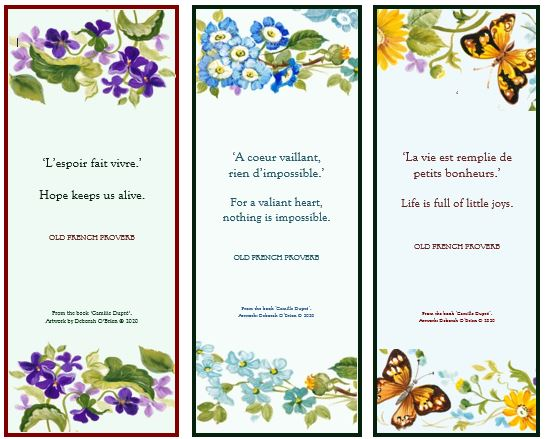 Skippy final CD bookmarks w butterfly